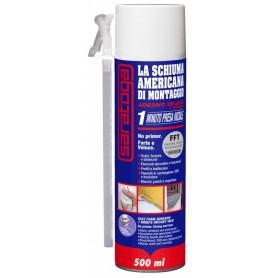 Mousse américaine adhésive - ml. 500 - polyuréthane saratoga