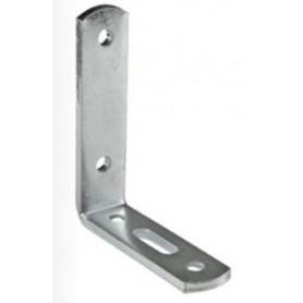 Plaque de montage en angle - 70x150 - plaqué zinc