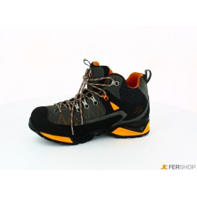 Scarponcino antracite/arancio - tg.42 - mountain tech w3 wp s3