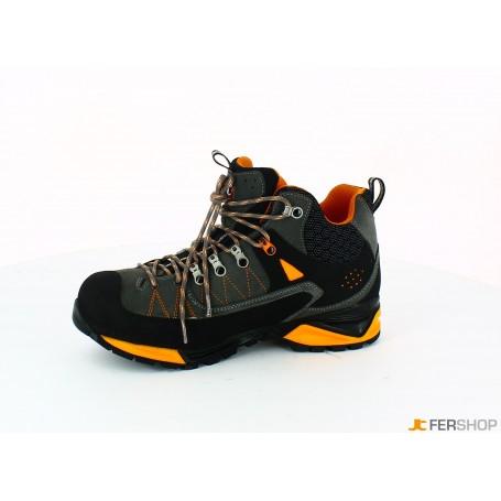 Chausson anthracite/orange - tg.43 - montagne tech w3 wp s3