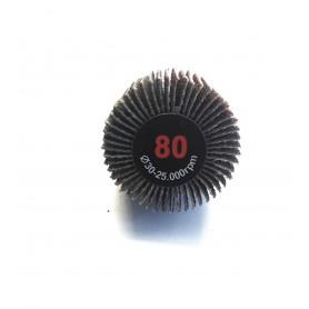 Abrasif Brosse lamellata - 30x20x6 gr.80 - RLG