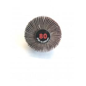 Abrasif Brosse lamellata - 40x20x6 gr.80 - RLG