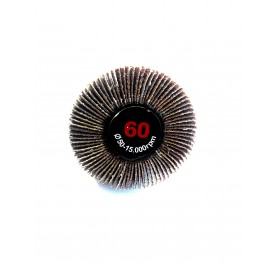 Abrasif, brosse lamellée - 50x20x6 gr.60 - rlg