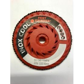 Lamellaire du disque abrasif - 115-gr. z60 - m14-dlv