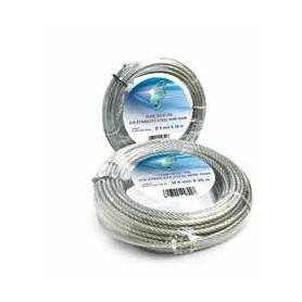 Câble en acier 133 fils - dia. 5 x 50m. - rouleau