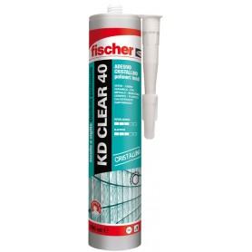 Mastic adhésif de fischer - kd, clair, 40 - transparent