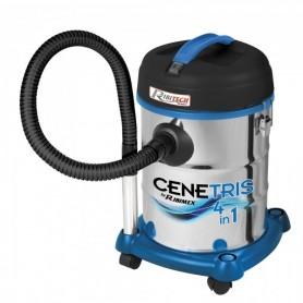 Bin aspirateur/ash - cenetris 4-en-1 - ribimex