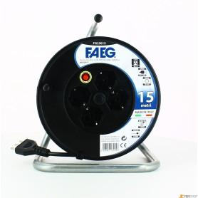 Enrouleur de câble civile faeg - mt.15-3x1.5 - 16a