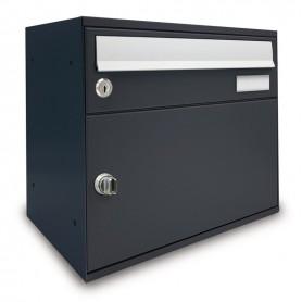 Boîte aux lettres w/packages - easybox - fonte