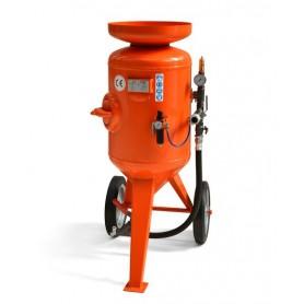 Sablage machine à cb 115 litres - contrôle à distance - avec le kit