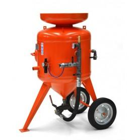 Sablage machine à cb de 215 litres - contrôle à distance - avec kit de 10 mt + casque
