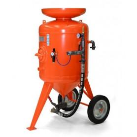 Sablage machine à cb 300 litres - contrôle à distance - avec le kit de 20 mt + casque