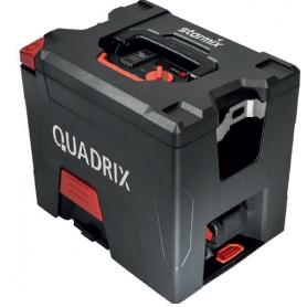 L'aspirateur starmix quadrix - batterie 18v - 2 batt.18v 5,2 ah avec accessoires