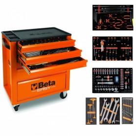 Cabinet BÊTA avec assortiment atelier - 2400E/VG