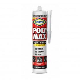 Bostik poly max high tack - gr.300 cartouche - transparent