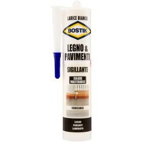 Mastic à bois bostik - blanc mélèze - ml.300 remplissage