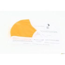 Masque-tissu lavable - orange - haute qualité