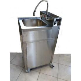 Évier auto-fr hi-tech - hws 684 c/eau avec réservoir d'eau