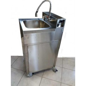 Évier auto-fr hi-tech - hws 684 simple - pas de réserve d'eau